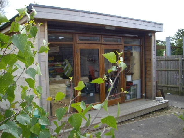 Outdoor Room at Manor Green Primary
