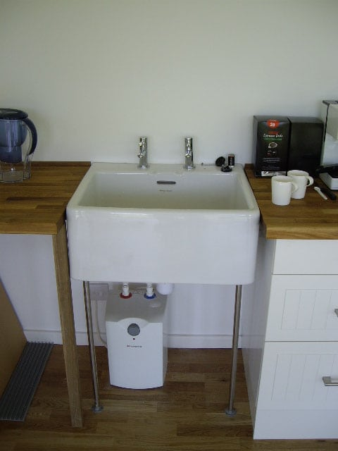 Large garden studio sink