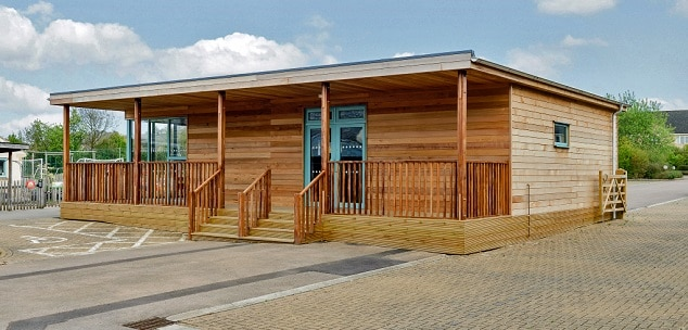 Eco-classroom at Mickleton Primary School