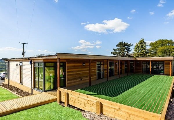 Eco-classroom for SEN at Rossendale School