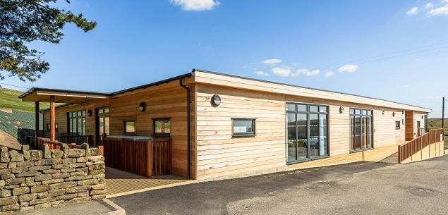 Eco-building for SEN at Rossendale School by TGEscapes