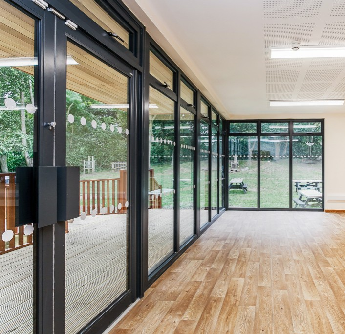 Access to the outdoors and views of nature in biophilic classroom design