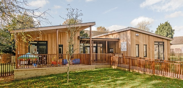 Eco-Nursery at St Francis Little Saints Nursery by TGEscapes