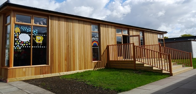 Cherry Orchard Primary School Eco-Classroom by The Learning Escape