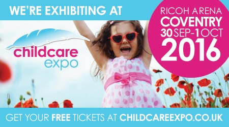 Midlands Childcare Expo 30th September and 1st October 2016