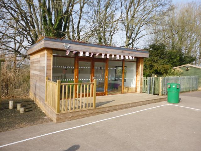 Eco Outdoor Classroom at Gomeldon Primary in Wiltshire by The Learning Escape
