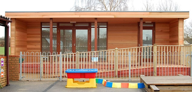Eco Pre-school Classroom at Dickleburgh Primary by The Learning Escape