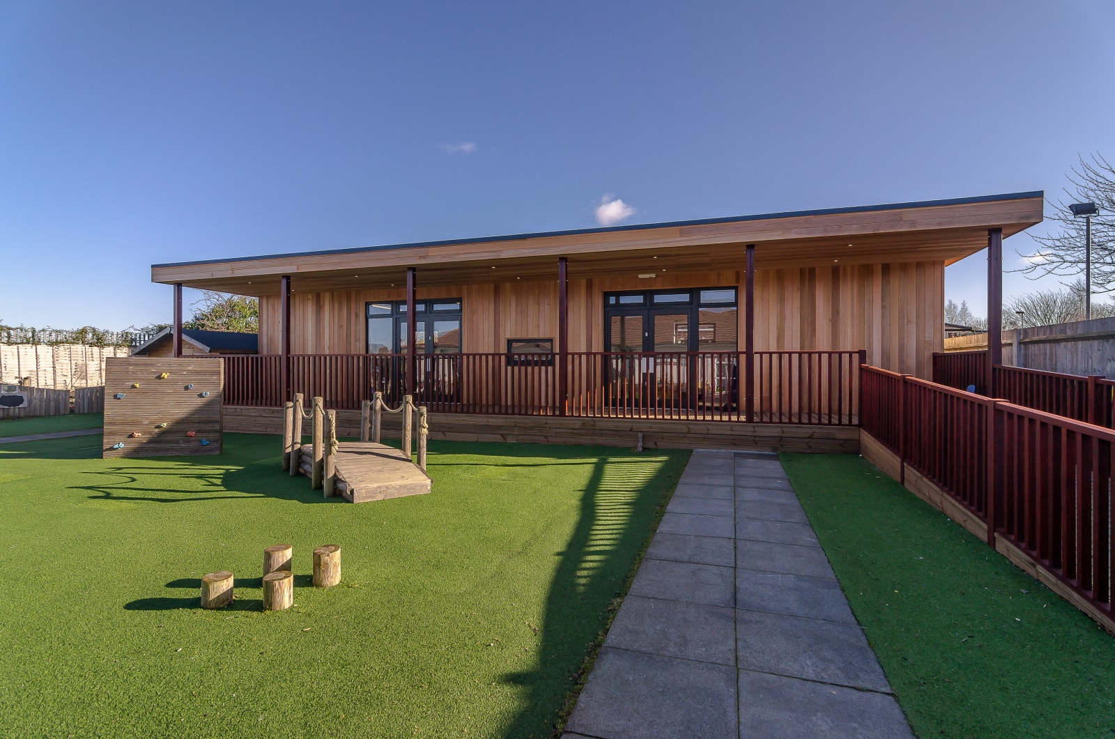 Eco Nursery at Gravesend Busy Bees Nursery in Kent by TGEscapes