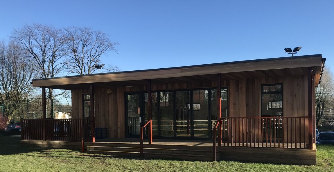 Eco Classroom at Greenbank Primary School by TGEscapes