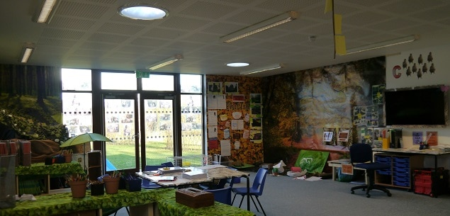 Eco-classroom by The Learning Escape at Hartsholme Academy