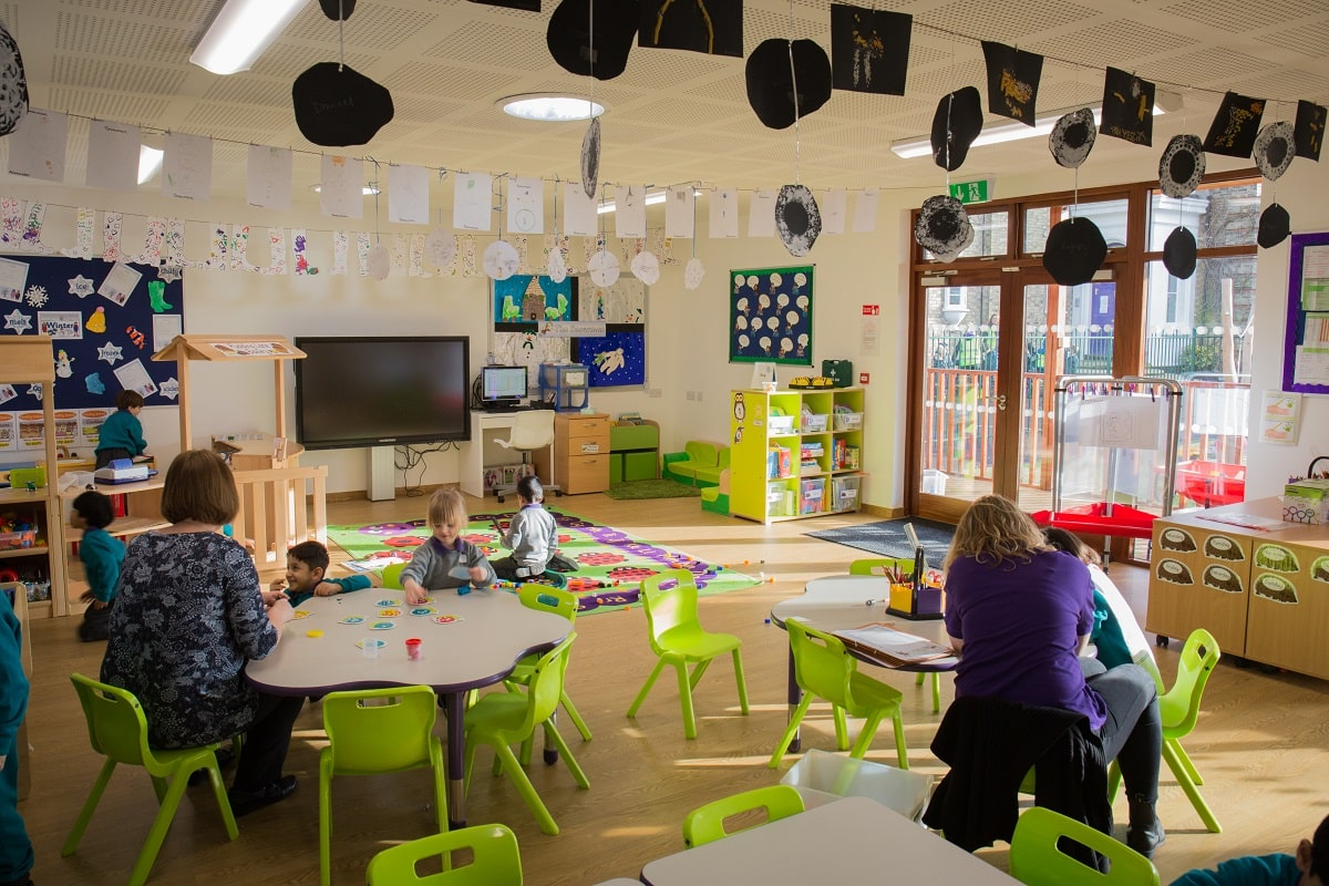 Eco-nursery at Bickley Park School by TGEscapes