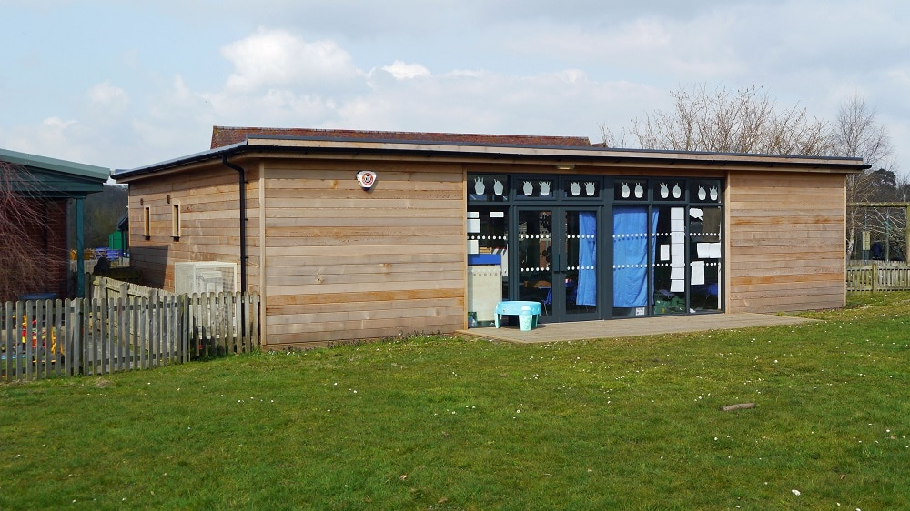 Eco-classroom at Dauntsey Academy by The Learning Escape