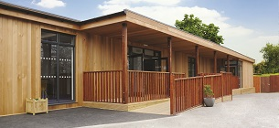 Eco-classrooms for SEN at Pengwern College by TG Escapes