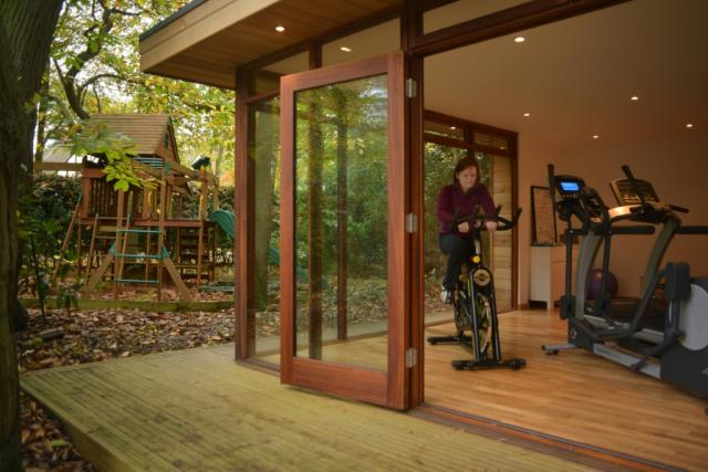 Eco Garden Gym in Surrey by The Learning Escape
