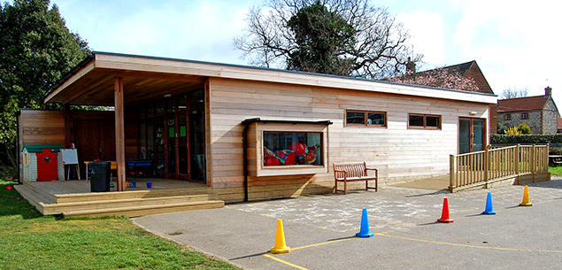 Eco-classroom at Hindringham school by The Learning Escape