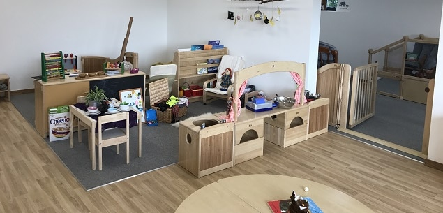 Eco-nursery by TGEscapes at Jesters Childcare in Essex