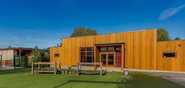 Eco school hall by TGEscapes at Kymbrook Primary school