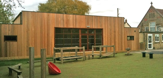 Eco School Hall at Kymbrook Primary