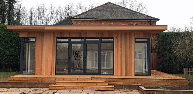 Mulit-use Garden Room in Bucckinghamshire by TGEscapes