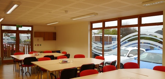 Modular eco teacher training room by The Learning Escape @ Willows primary school