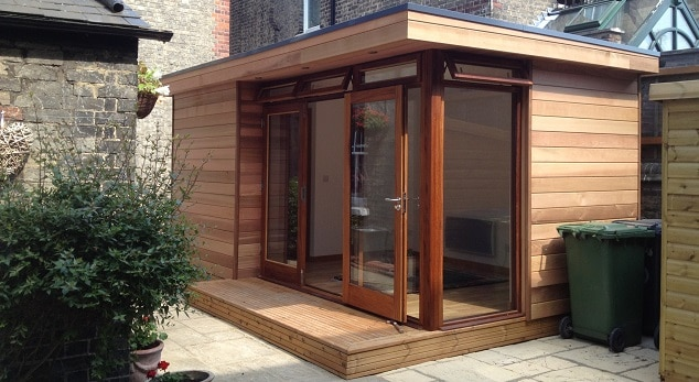 Eco Garden consulting room Eco outdoor classroom by The Learning Escape
