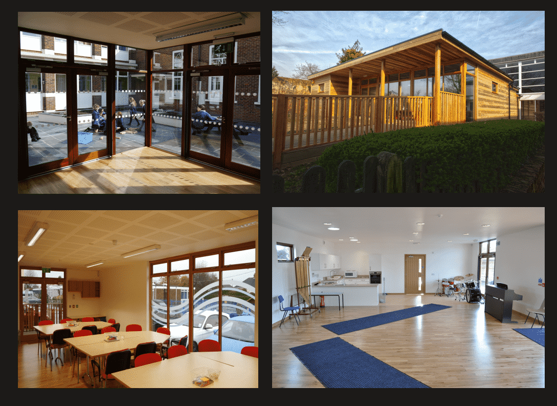 Eco-classrooms by The Learning Escape