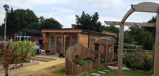 Pilgrim School Eco-Classroom  by The Learning Escape