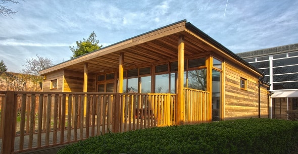 Eco-classroom at Spring Grove Primary School