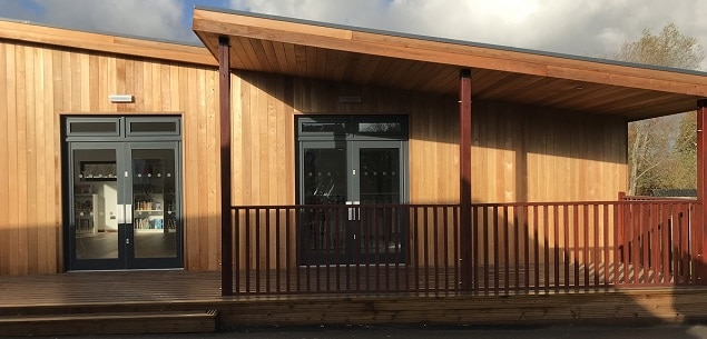 Multi use Eco-classroom at St Robert Southwell in Horsham