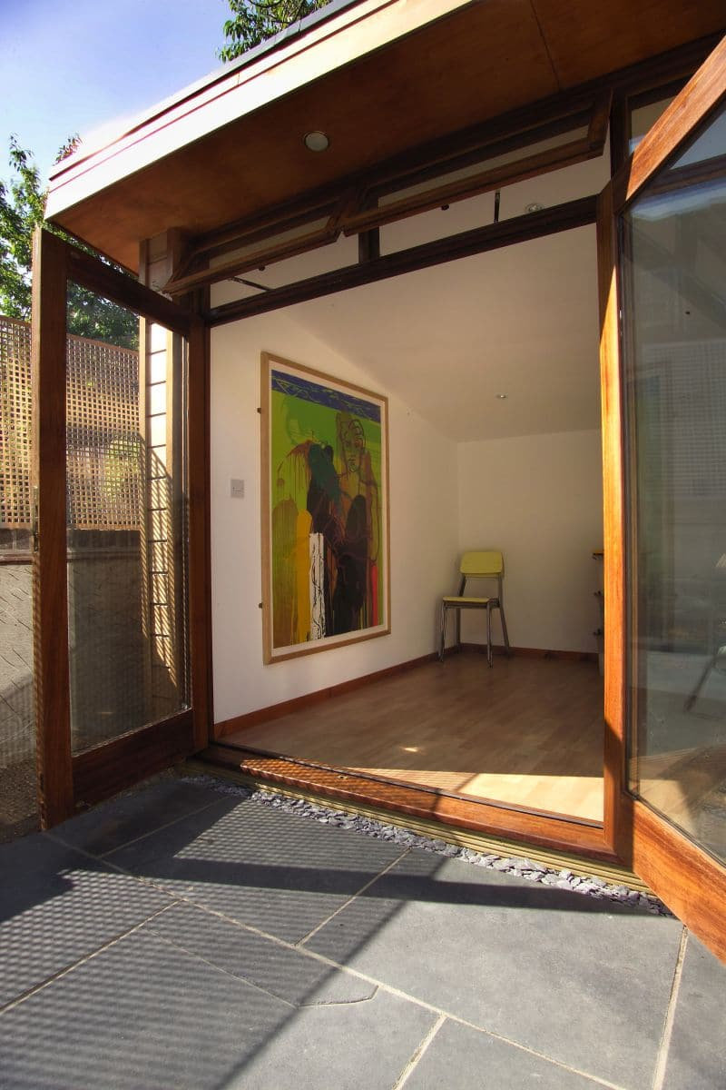 Garden Room by The Garden Escape with an artistic statement