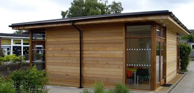 Lawnside Primary School eco-classroom by The Learning Escape