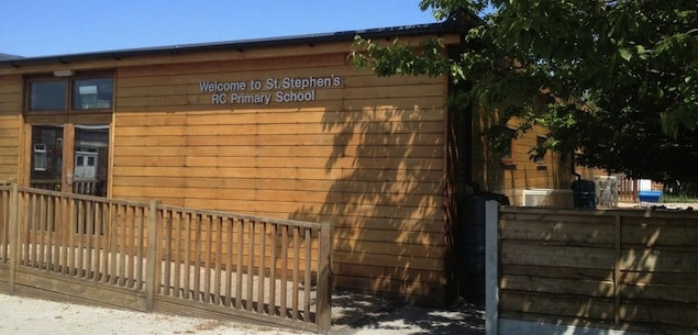 The Learning Escape eco-nursery at  St Stephen's primary