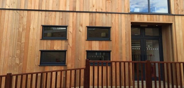 Eco-Classrooms at Heronsgate Primary School by The Learning Escape
