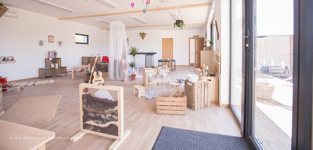 Eco-nursery by TGEscapes at Tops Day Nursery in Portsmouth