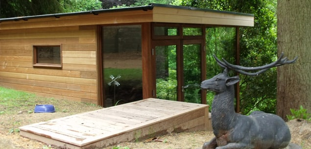 Eco garden office by The Garden Escape