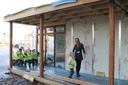 Children at Sacred Heart Primary learn construction with The Learning Escape