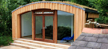 Eco Garden Annexe Guest Room by The Garden Escape