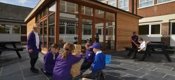 Eco Staff Room at Whitehill Primary by The Learning Escape
