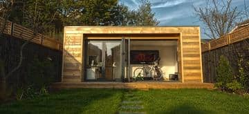 Eco Garden Office and gym by The Garden Escape