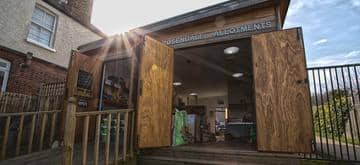 Rosendale Allotment meeting centre by The Commercial Escape