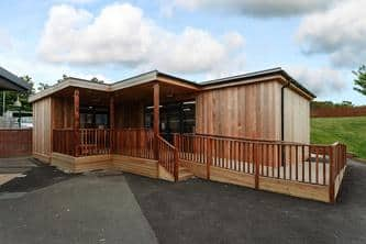 Eco-classroom by TGEscapes @ Coopers Edge Gloucester