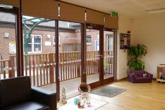 Eco Community Room by The Learning Escape at Lord Street School Derby