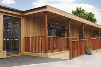 Eco-classrooms for SEN at Pengwern College part of the Cambian Group