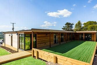 Modular Eco Building at Rossendale School for SEN