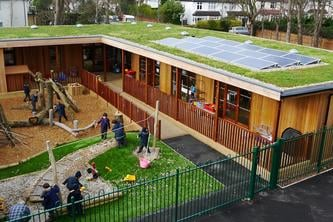 The Learning Escape eco-classroom @ Bickley Park Bromley