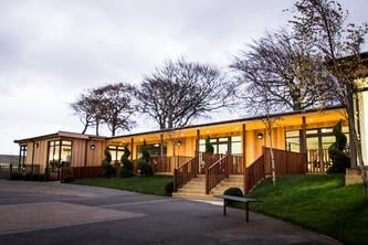The Learning Escape eco-classroom block @ Shotton Hall Academy