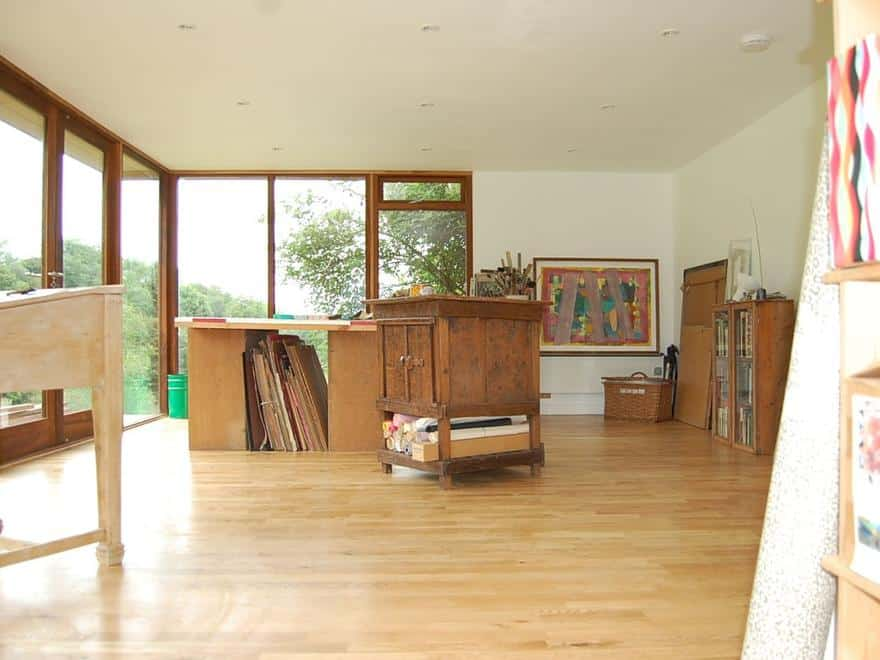 Art Studio in Devon, June 2007