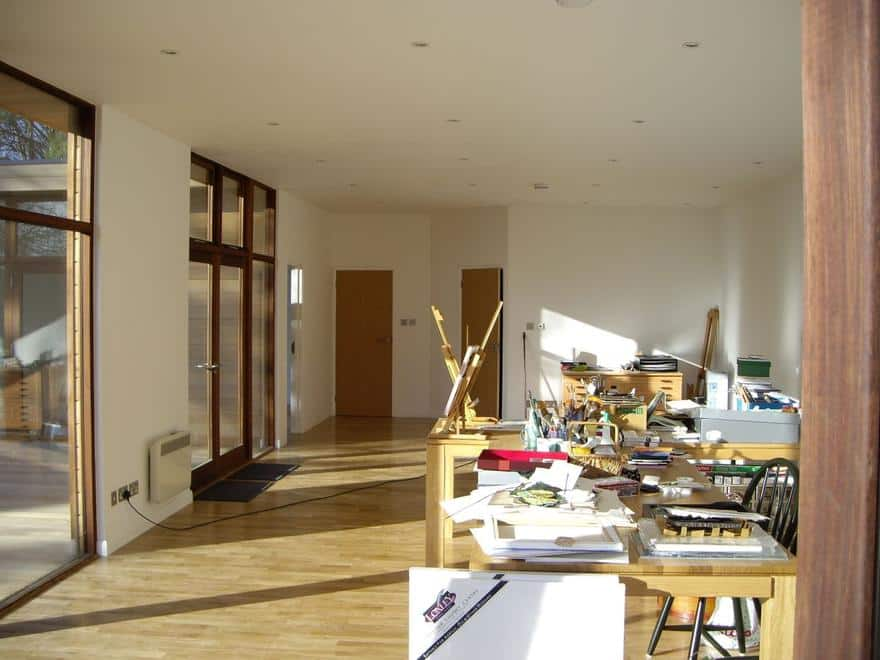 Art Studio in Dublin, November 2007