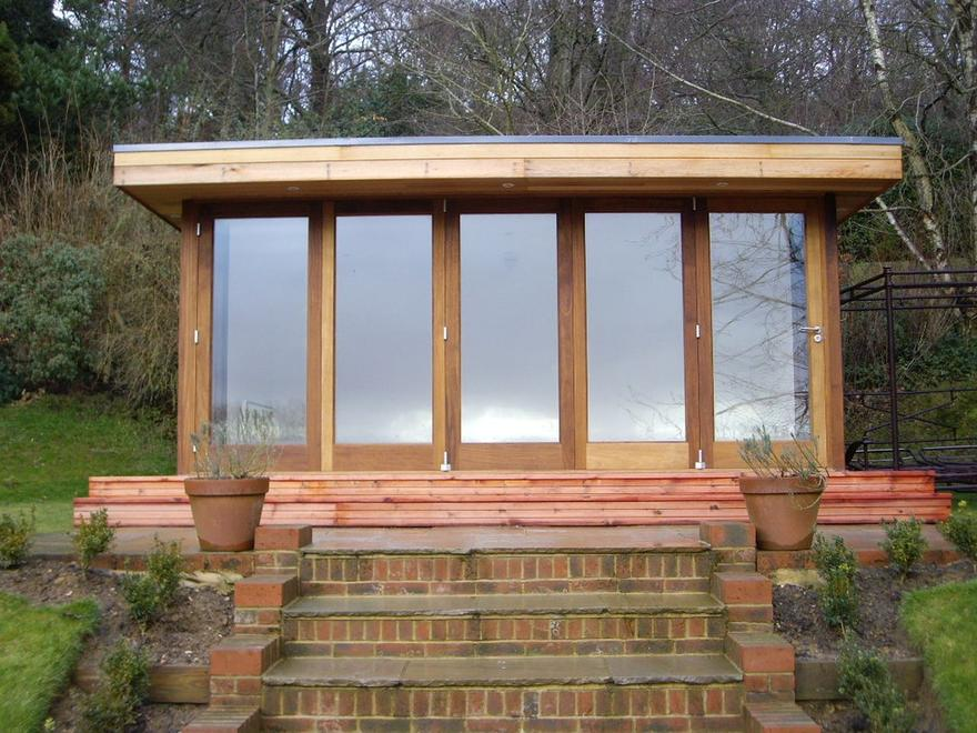 Garden Room in Surrey, December 2009