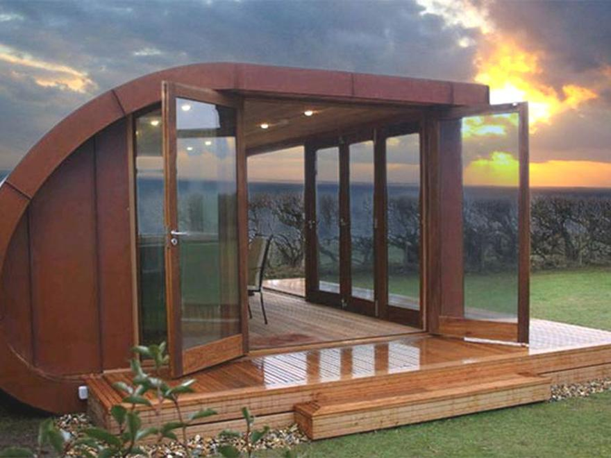 Garden rooms bespoke eco build uk nationwide with 10 for Garden gym room uk